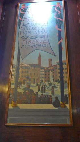 Vakker plakat i lokalet