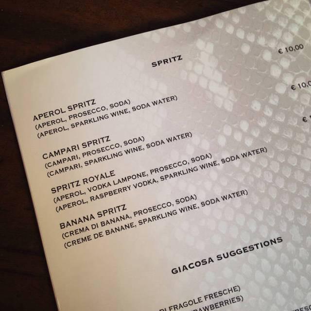 For en Spritz-meny! Vil du lage en klassisk Spritz? Klikk her for oppskrift