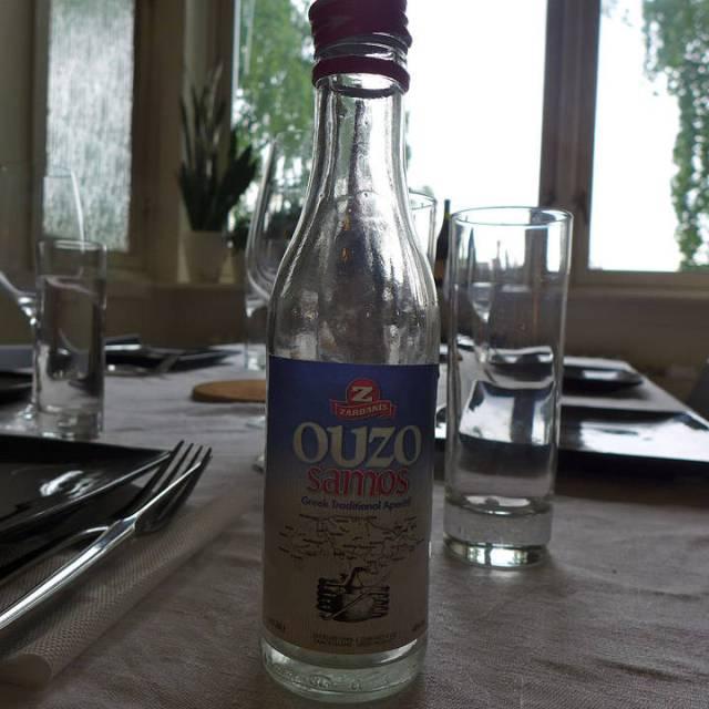 Ouzo – gresk anisbrennevin