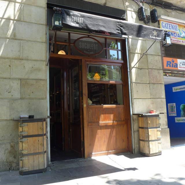Fasaden til Suculent