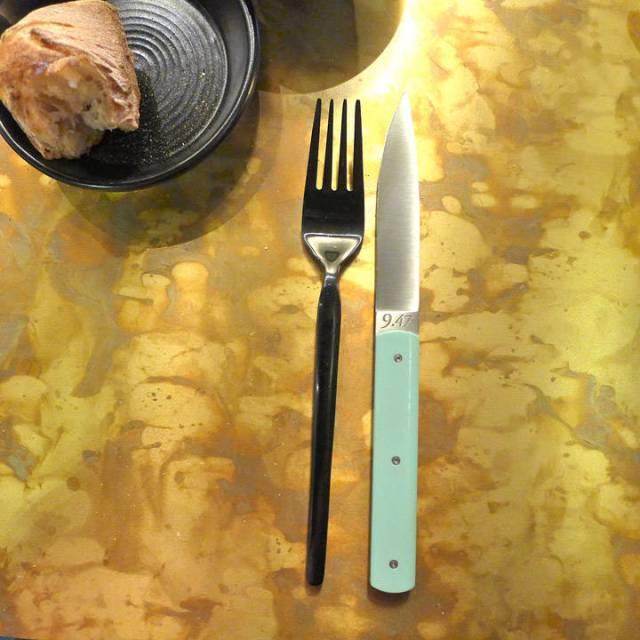 Seriøs kjøttkniv.