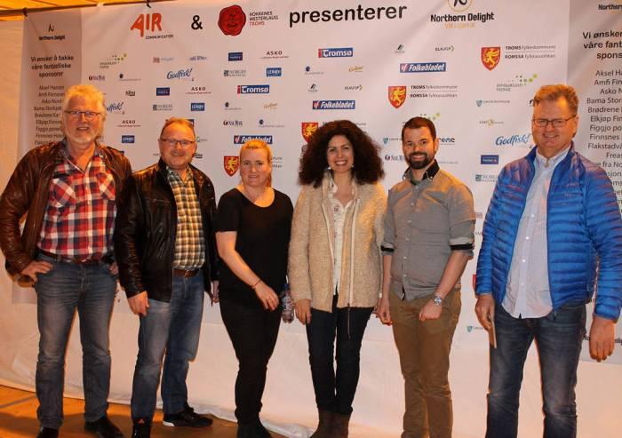 Ordføreren Guttorm, Frp-Per, meg, Aurora, Sten og Arve. Takk til Aurora Jimenez for bildet.