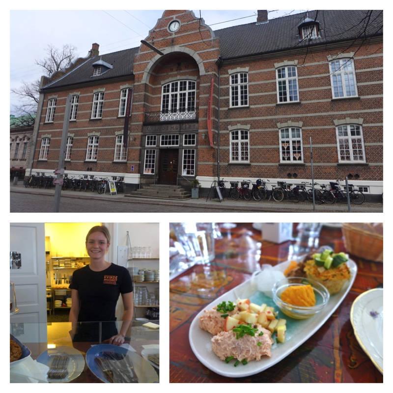 Kvindemuseet i Danmark ligger i Århus.