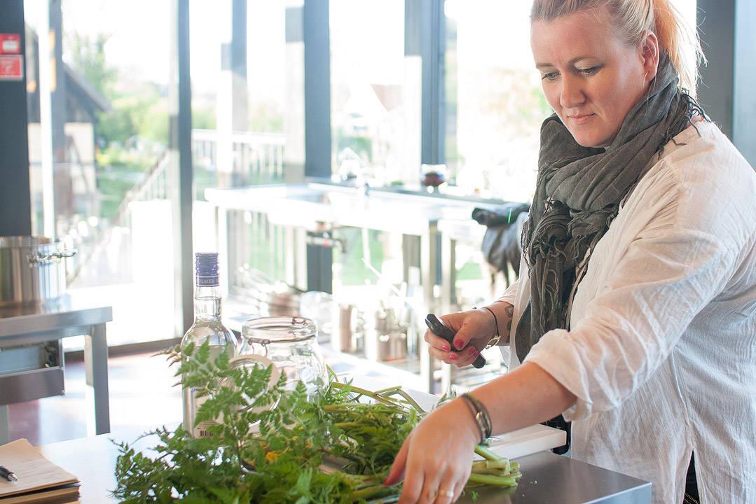 Bilde av meg tatt av Andrea fra bloggen twofoodseating