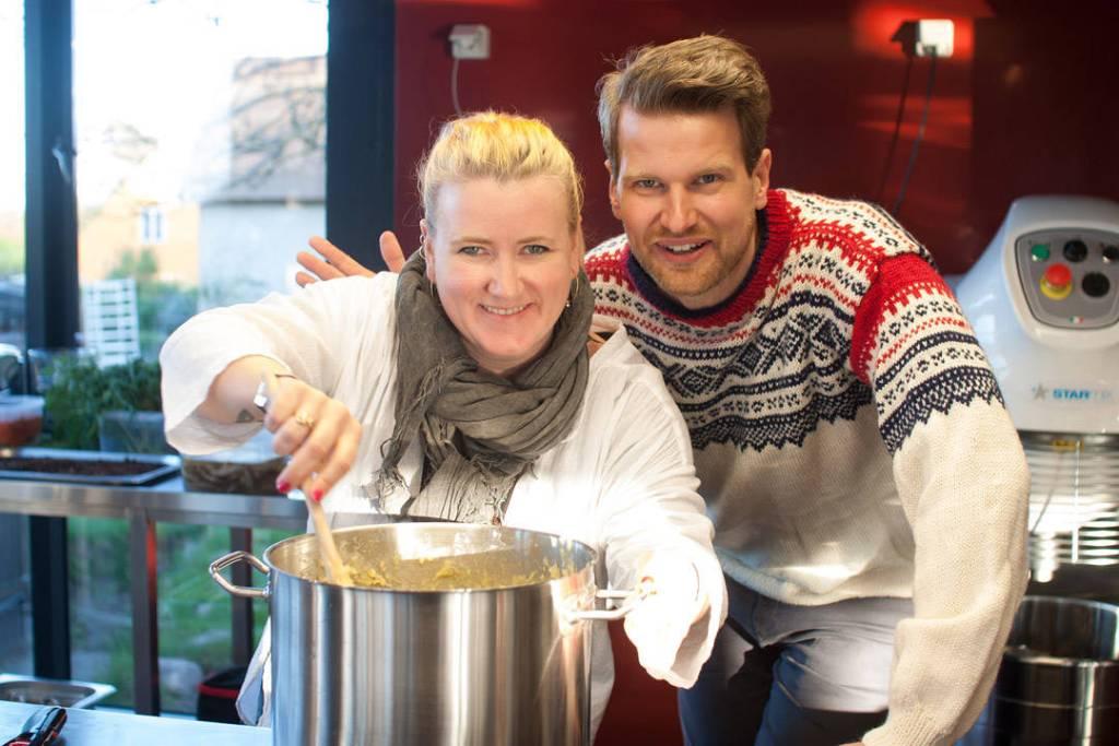 Jeg og Anders Husa. Foto: Andrea fra Twofoodieseating