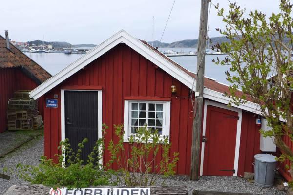 Camillas hus i Fjällbacka