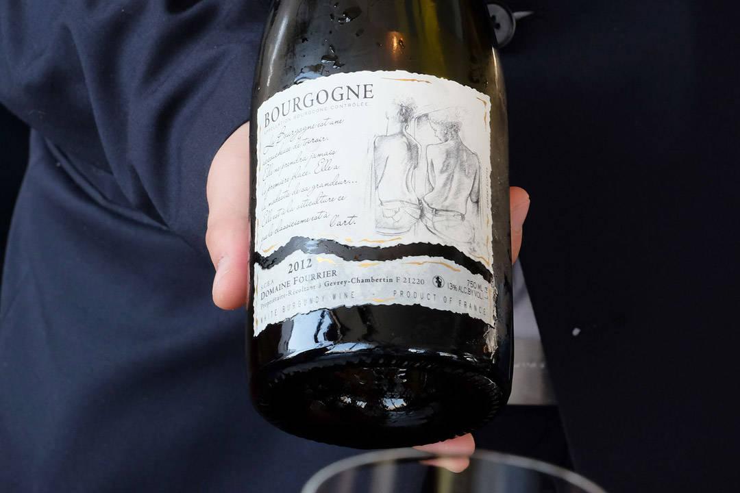 Nydelig hvitvin til neste rett.