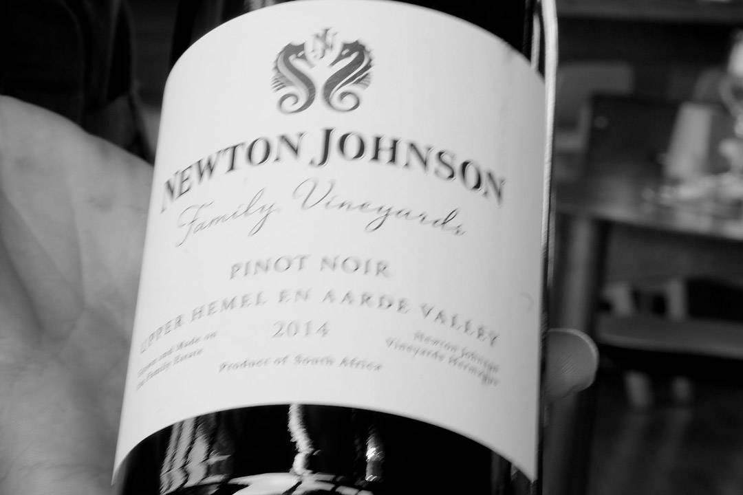 En nydelig, lokal pinot noir fra Newton Johnson.