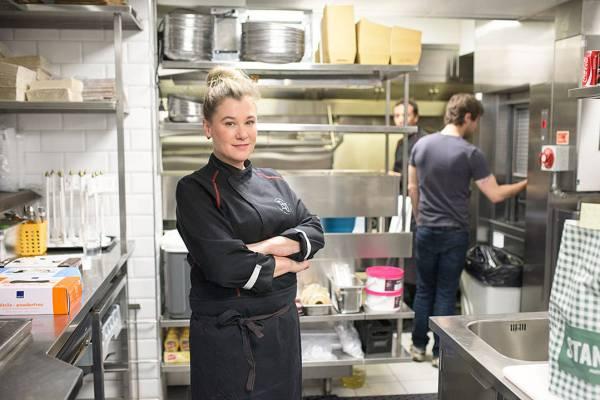 Kjøkkensjef og eier av Burger Joint i Oslo, Ann Vestgren
