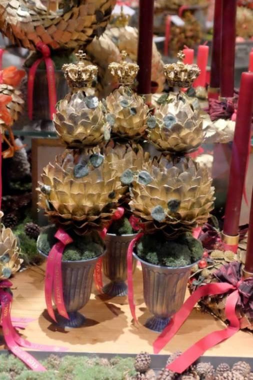 Hos Bering Flowers får du maksimalistisk julepynt. I love it!