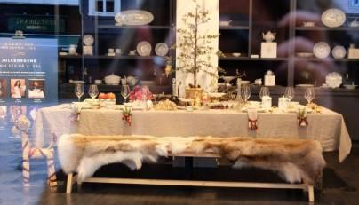 Julebordsutstillingen hos Royal Copenhagen.