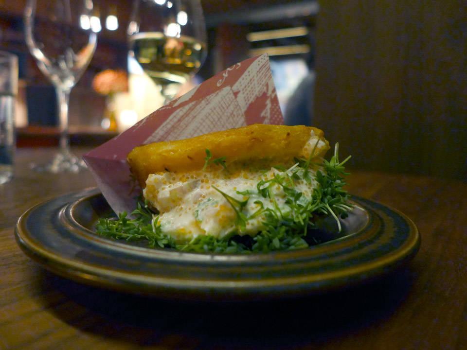 Selleribrød med løyrom.