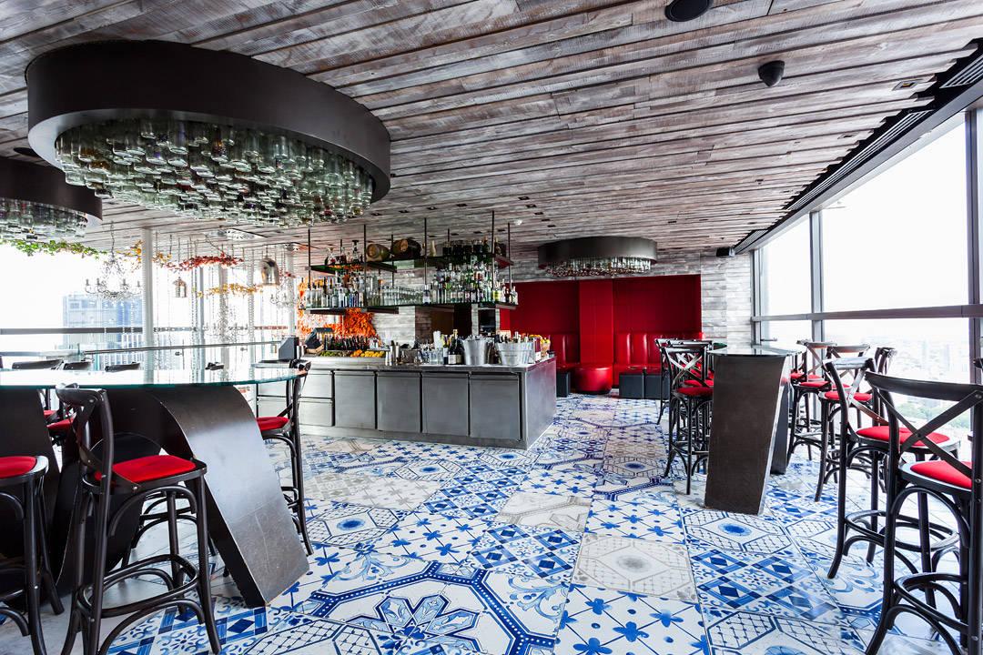 Barområdet hos Duck & Waffle. (Foto: Duck&Waffle)