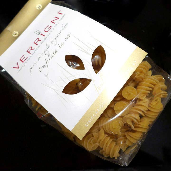 Herlig pasta som jeg fikk tak i hos den nye delikatesseforretningen på Frogner, Andrea Bono.