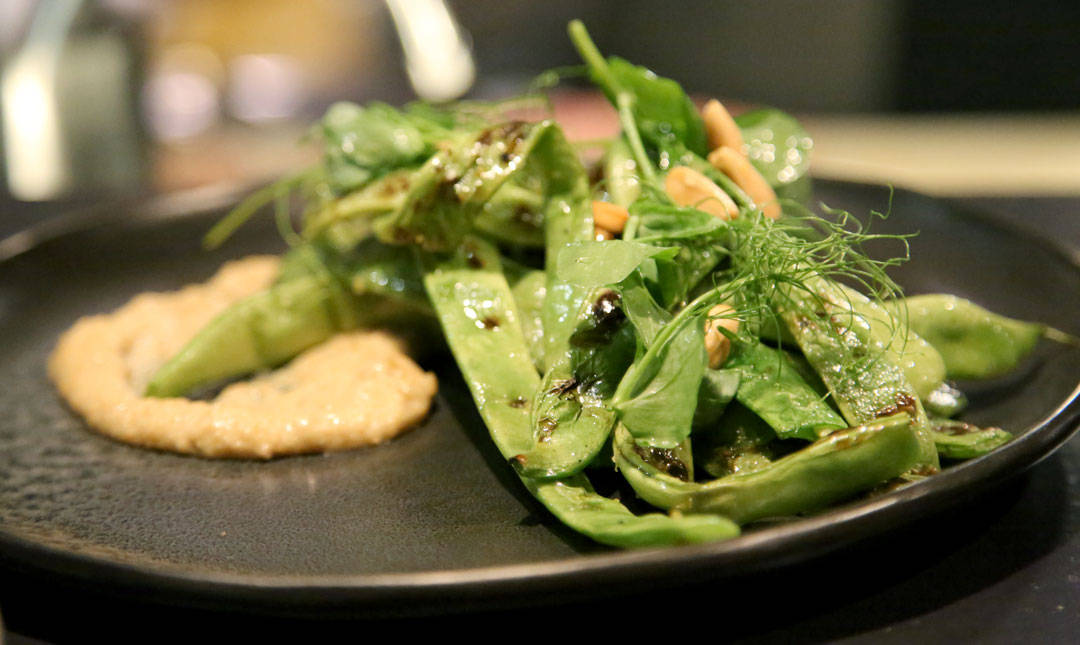 Grillet salat på Firedoor.