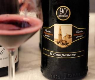 Il Campanone fra Lombardini. Kanskje min aller største favoritt denne smakingen. Tanninrik og kraftig. Passer til kjøttgryter.