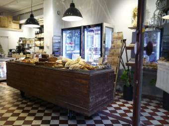 Da Matteos brødbutikk i Victoriapassasjen.