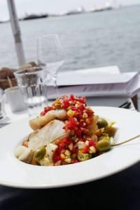 Ferske fisk med provencalske smaker