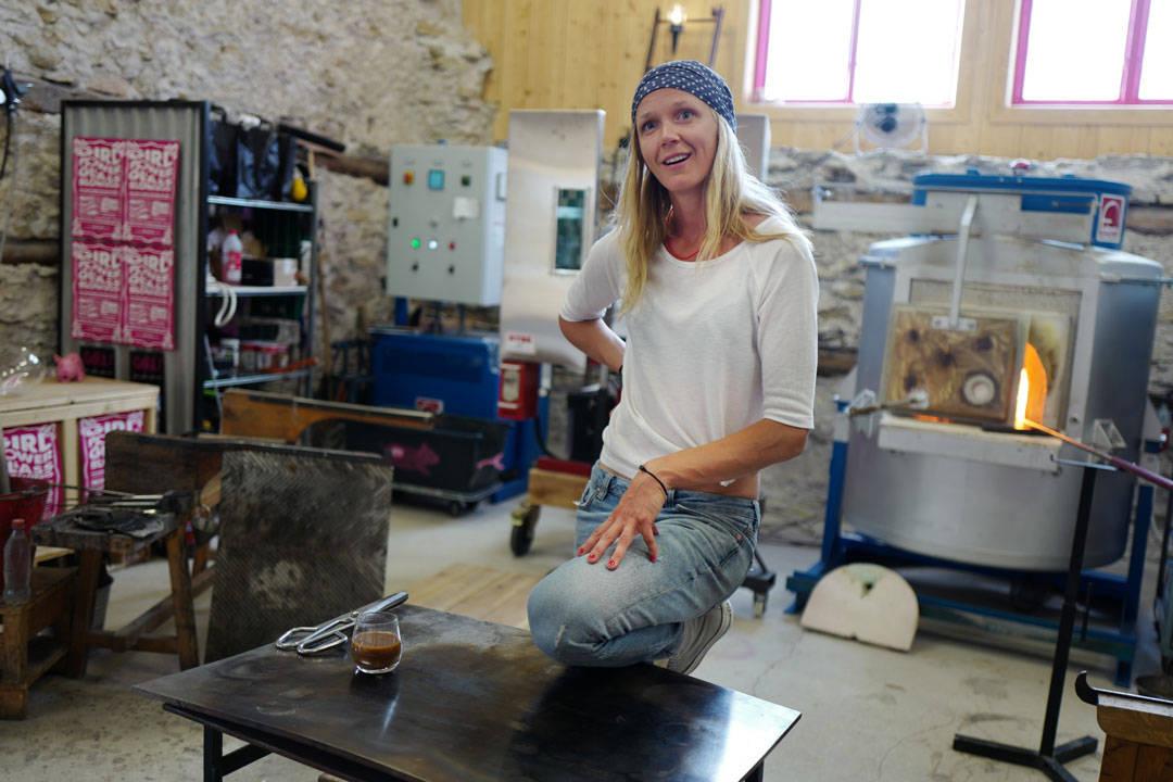 Jennie Olofsson på Big Pink, nuevo.helleskitchen.org