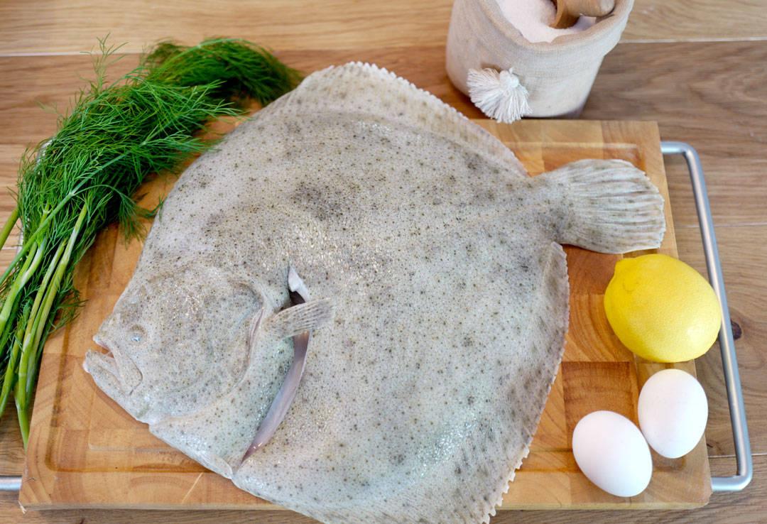 Salt baking av fisk Foto: Helle Øder Valebrokk
