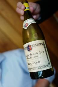 Regnard Grand Cru Les Preuses 01 A.O.C. Chablis.