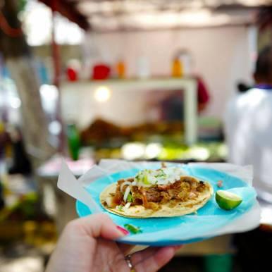 Ekte meksikansk taco fra Mexico by.