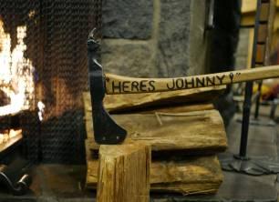 Originaløksen fra filmen Ondskapens hotell.
