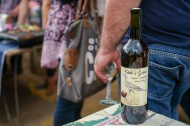 Nino Chitoshvili aller første vin under navnet Chito's grino. Nydelig vin.