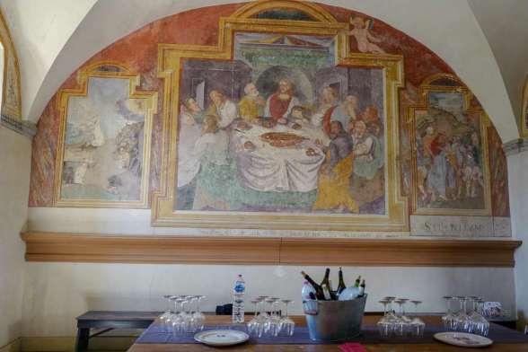 Fine omgivelser for vinsmaking.