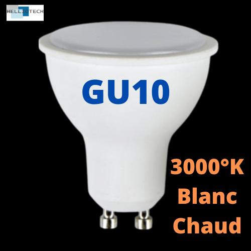 Ampoule LED GU10 3W 3000°K
