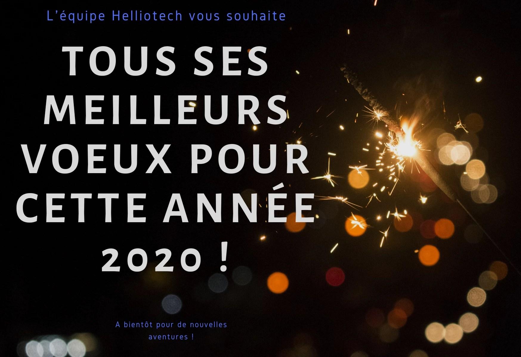 Tous nous vœux pour cette année 2020 ! 🎉✨ 1