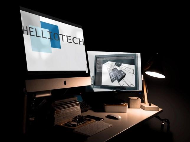 Etude d'éclairage sous Dialux par Helliotech