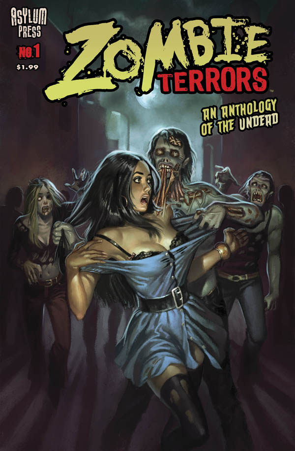 Asylum Press Transforms Zombie Terrors Into An Animated Comic Series available for Free on the iPad