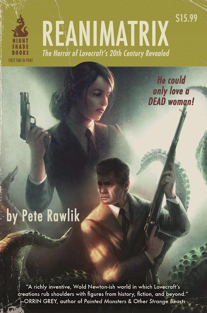 Reanimatrix by Pete Rawlik – Book Review