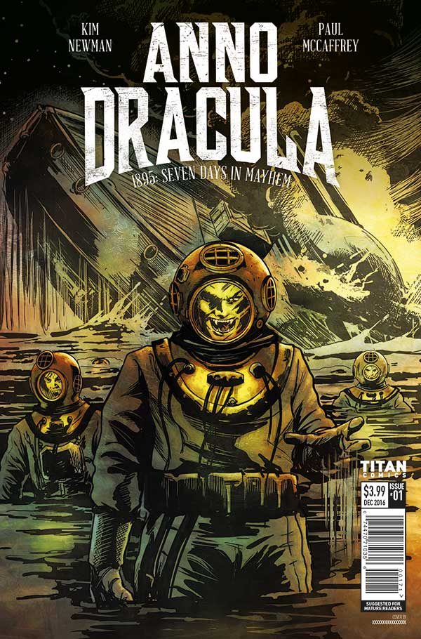 'Anno Dracula #1:' Covers and Art Preview revealed! Based on the Award-Winning Novels by Kim Newman!