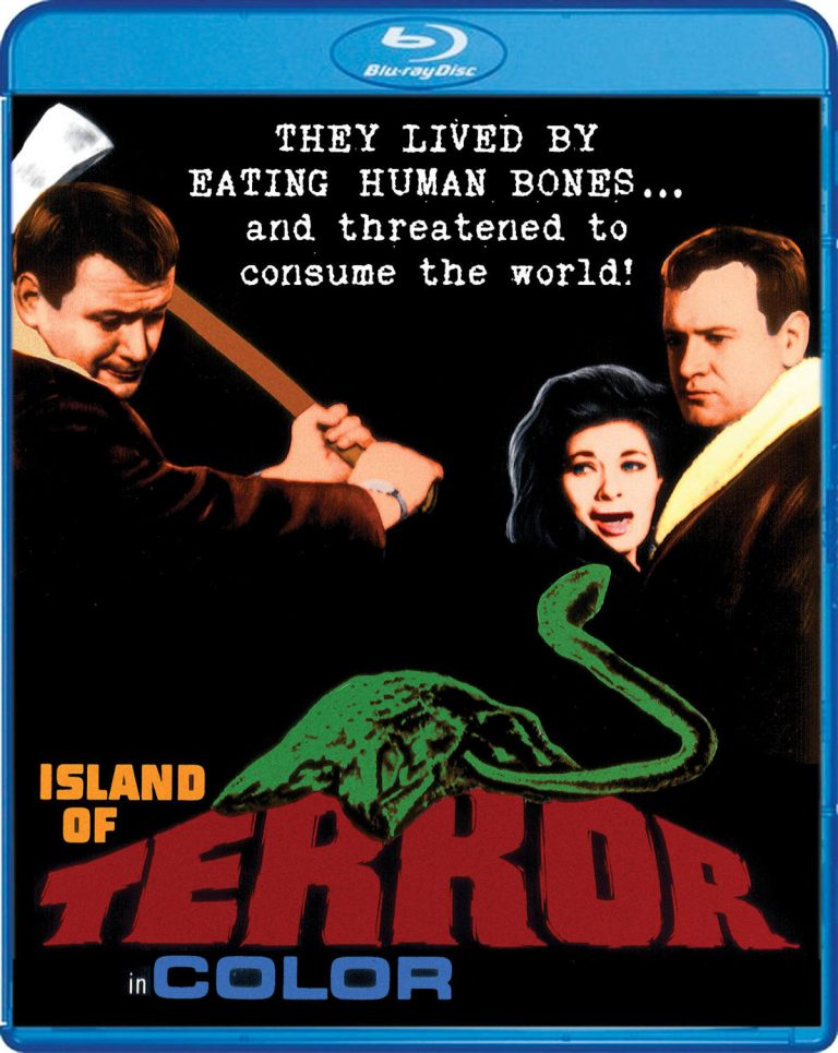 Scream Factory is Taking Us on a Vacation to 'The Island Of Terror'