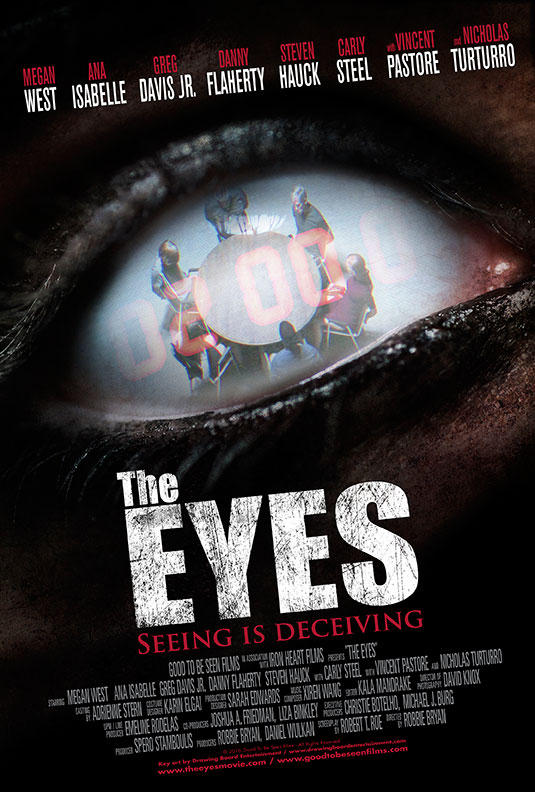 A New Poster and Release Details for 'The Eyes'