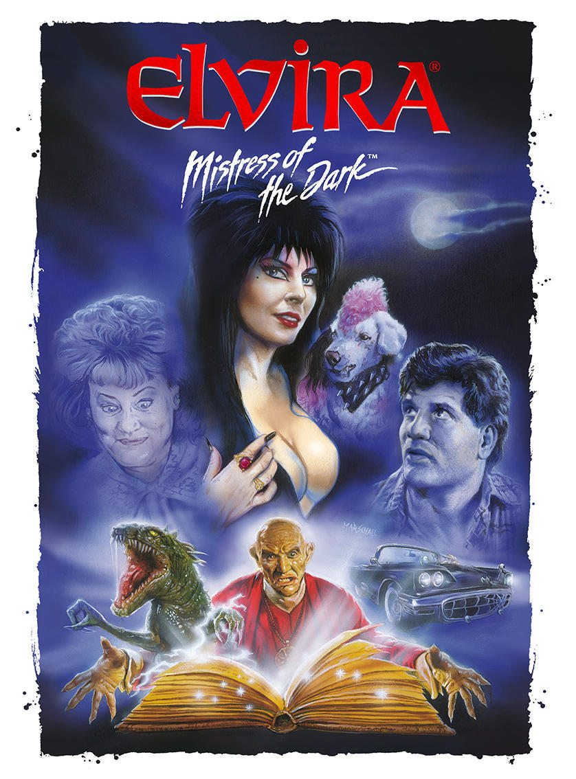 This April 24th You Can Bring Home 'Elvira, Mistress of the Dark!'