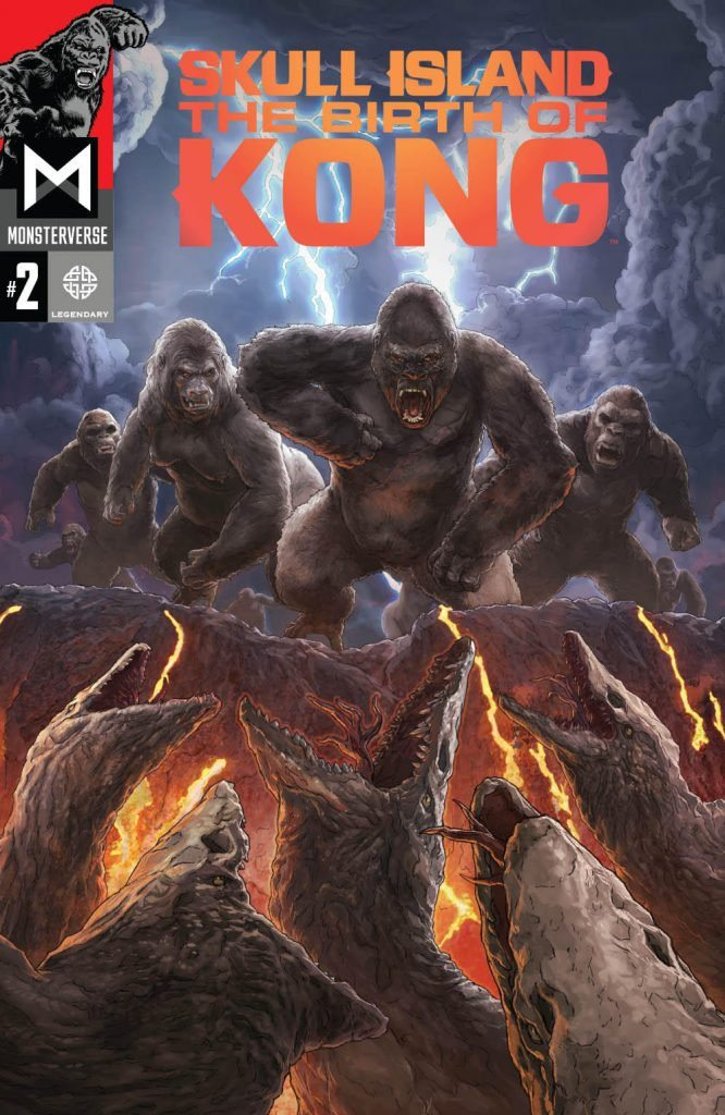 The Second Issue Of 'Skull Island: The Birth of Kong' Is Out!