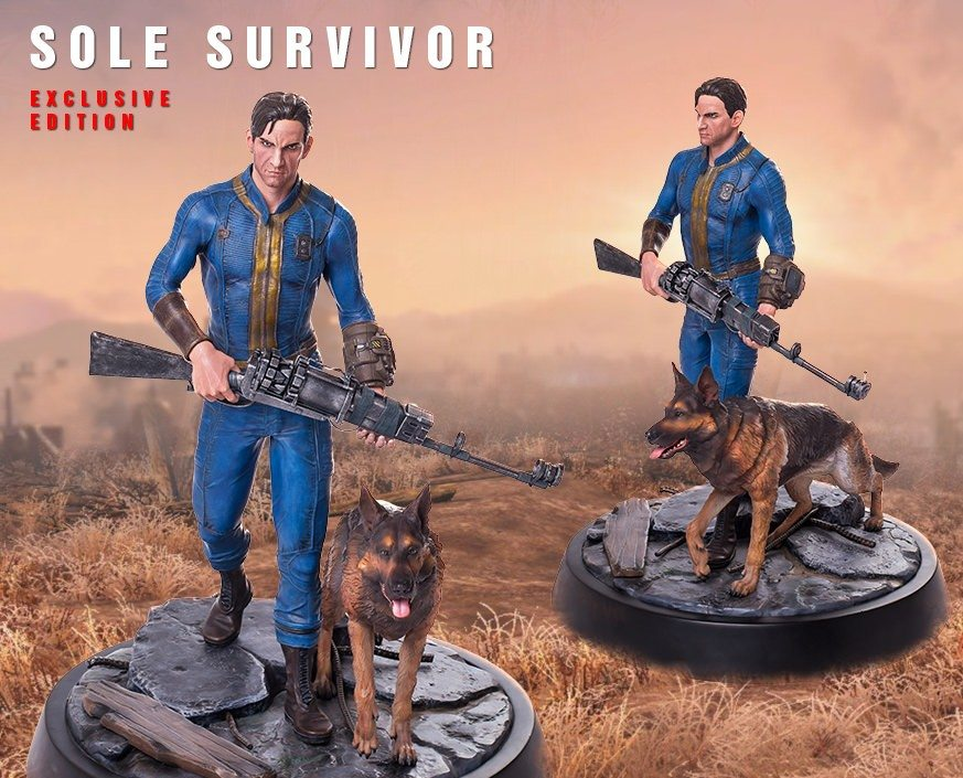 'Fallout 4: Sole Survivor' Statue Press Release from Gaming Heads