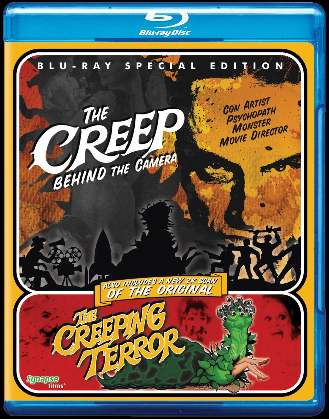 'The Creep Behind The Camera' Tells The Story Of How 'The Creeping Terror' Was Made!