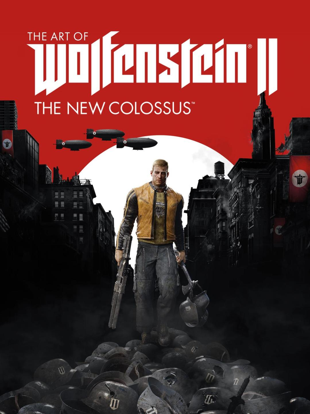 Dark Horse and Bethesda Softworks to Publish 'The Art of Wolfenstein II: The New Colossus'