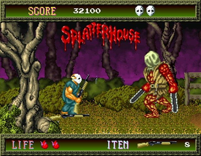 Namco Is Bringing 'Splatterhouse' To The Nintendo Switch In Their Latest Collection!