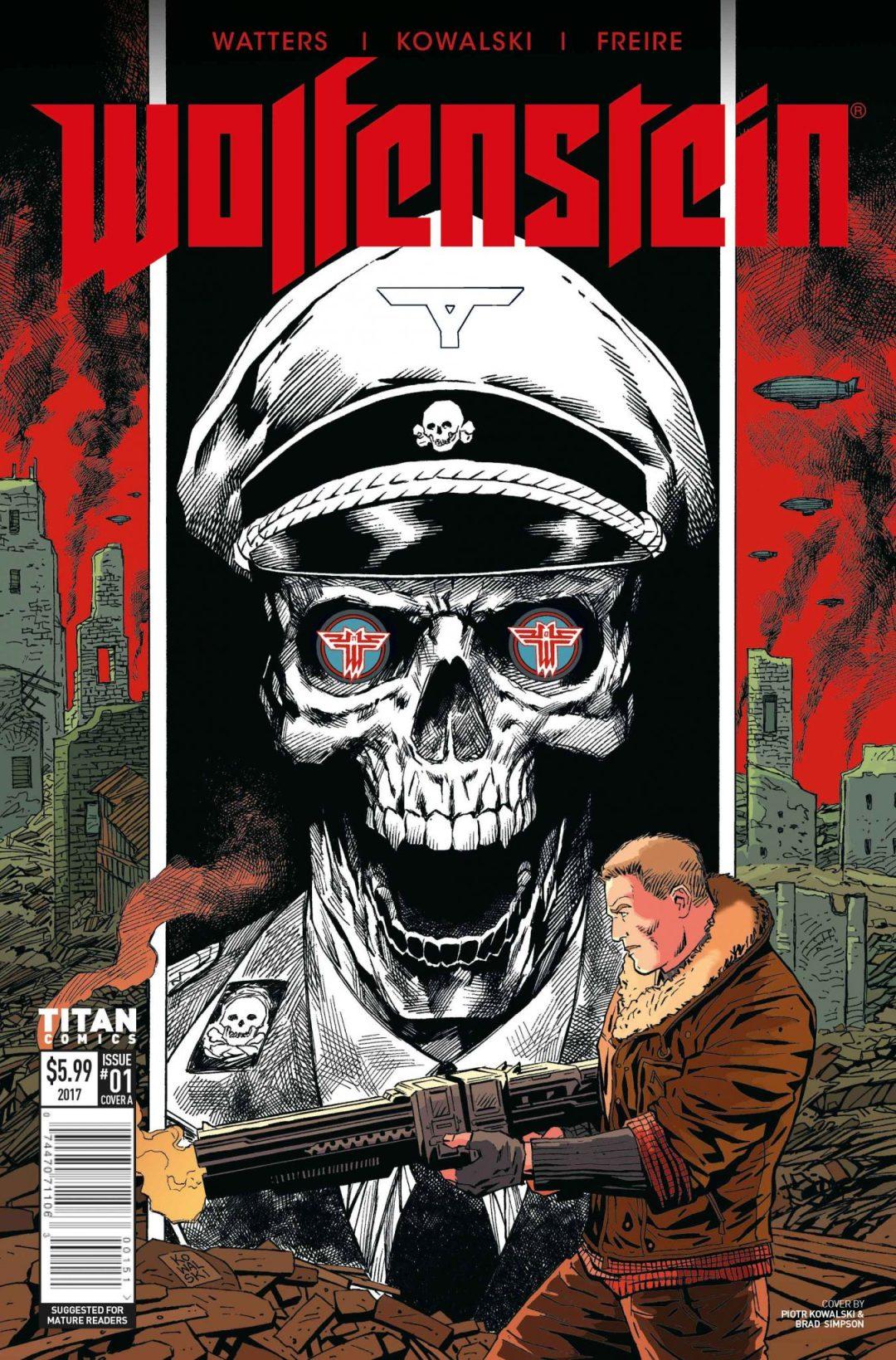 'Wolfenstein Issue #1' – First Interior Art from Prequel to Upcoming Videogame 'Wolfenstein II: The New Colossus!'