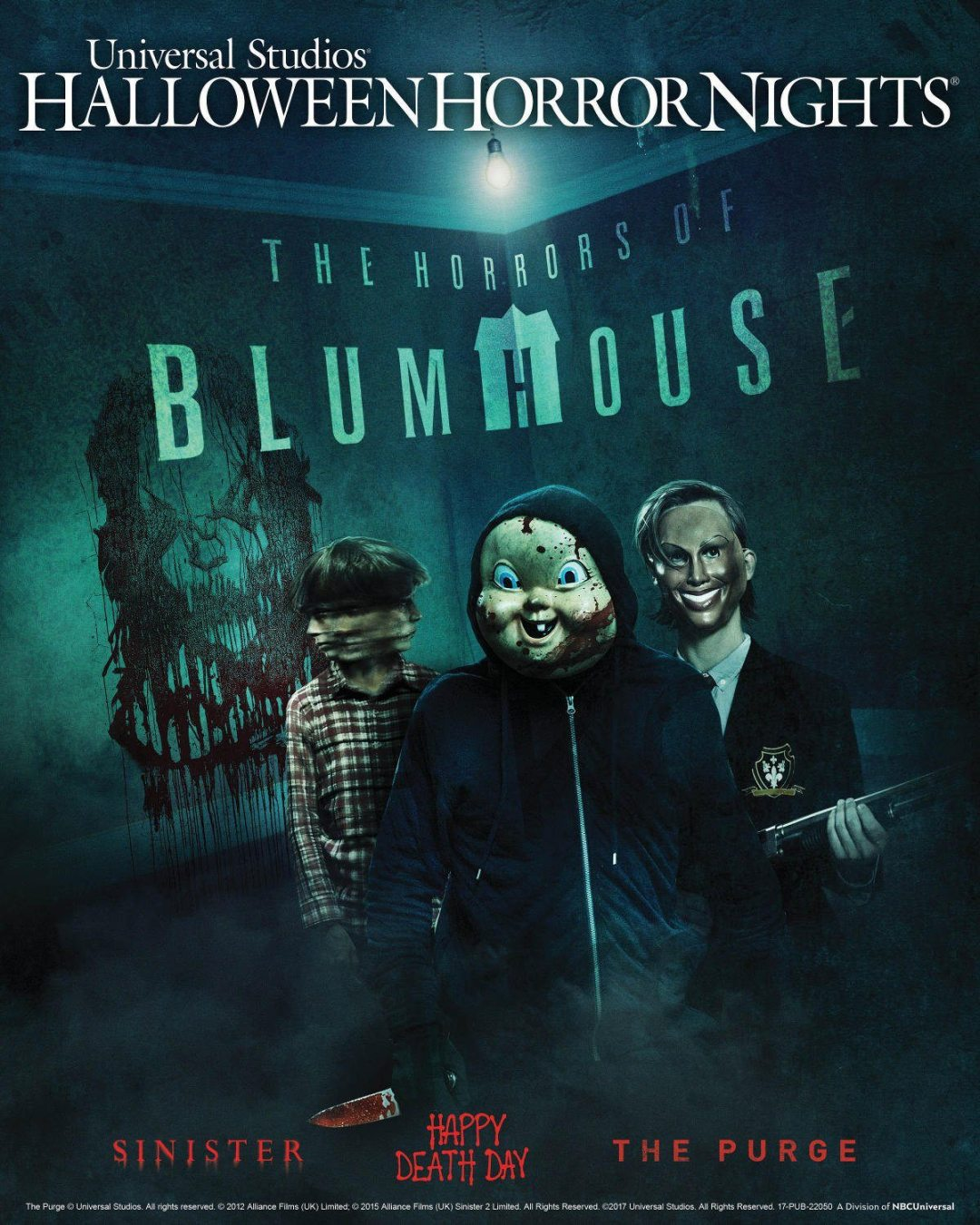 'The Horrors of Blumhouse' is Coming to This Year's Halloween Horror Nights!