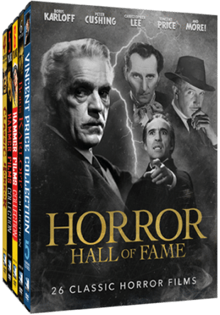 The 'Horror Hall Of Fame' Is Giving Us 26 Classic Horror Films!!