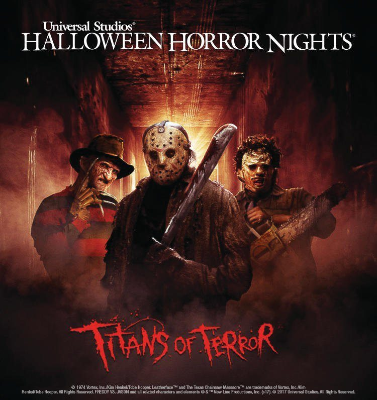 The 'Titans of Terror' Are Coming to Halloween Horror Nights at Universal Studios Hollywood!