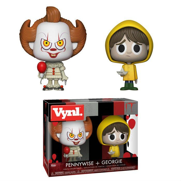 Because We Can't Get Enough of 'It,' Funko Delivers Pennywise and Georgie!