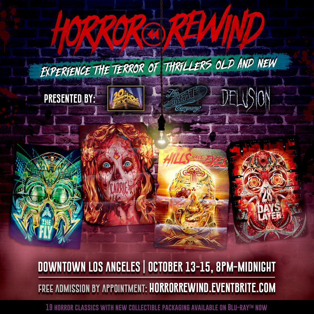 Horror Rewind Has Some Awesome Halloween Attractions Coming!