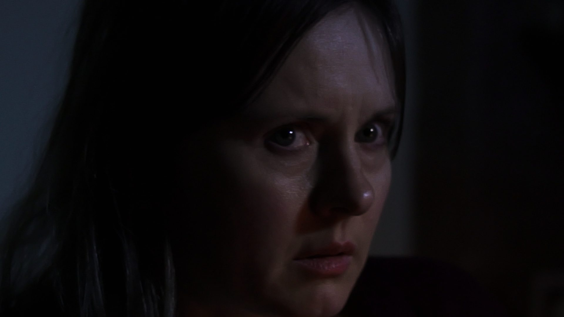 The Redeeming \u2013 Joyce (Tracey Ann Wood) is spooked by a knock at the door  sc 1 st  Hellnotes & The Redeeming - Joyce (Tracey Ann Wood) is spooked by a knock at the ...